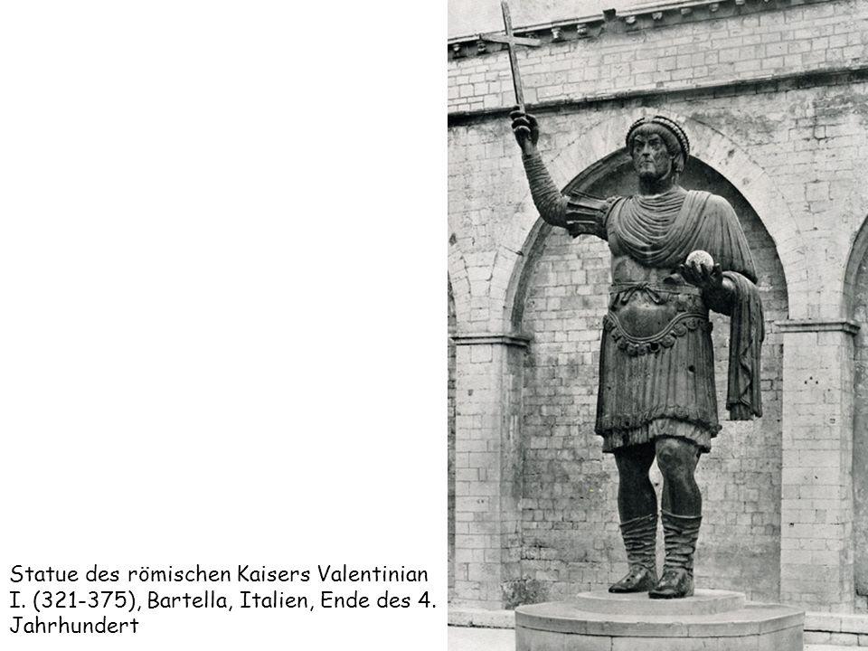 Statue des römischen Kaisers Valentinian I