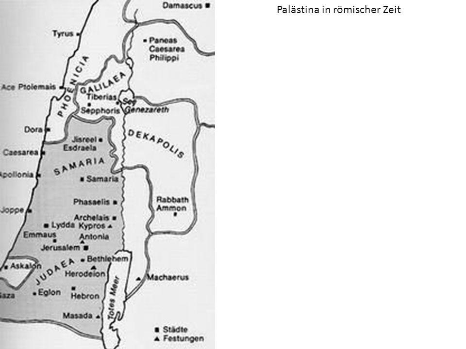 Palästina in römischer Zeit