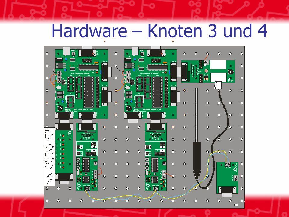 Hardware – Knoten 3 und 4