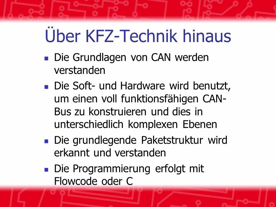 Über KFZ-Technik hinaus