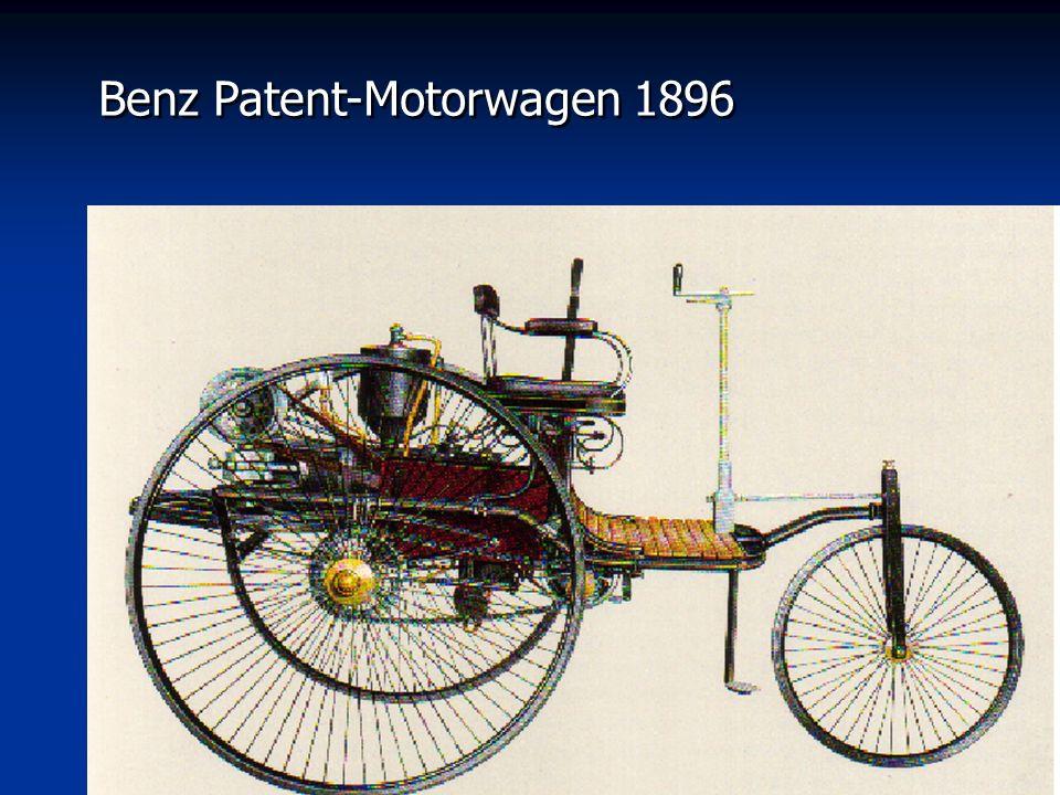 Benz Patent-Motorwagen 1896