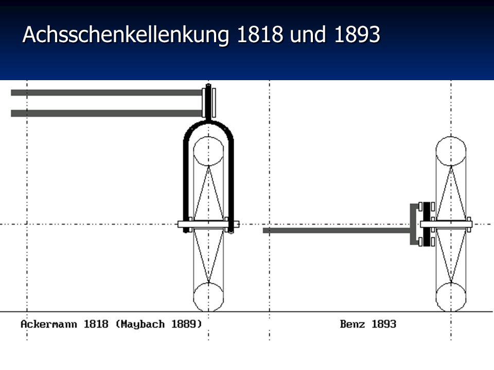 Achsschenkellenkung 1818 und 1893
