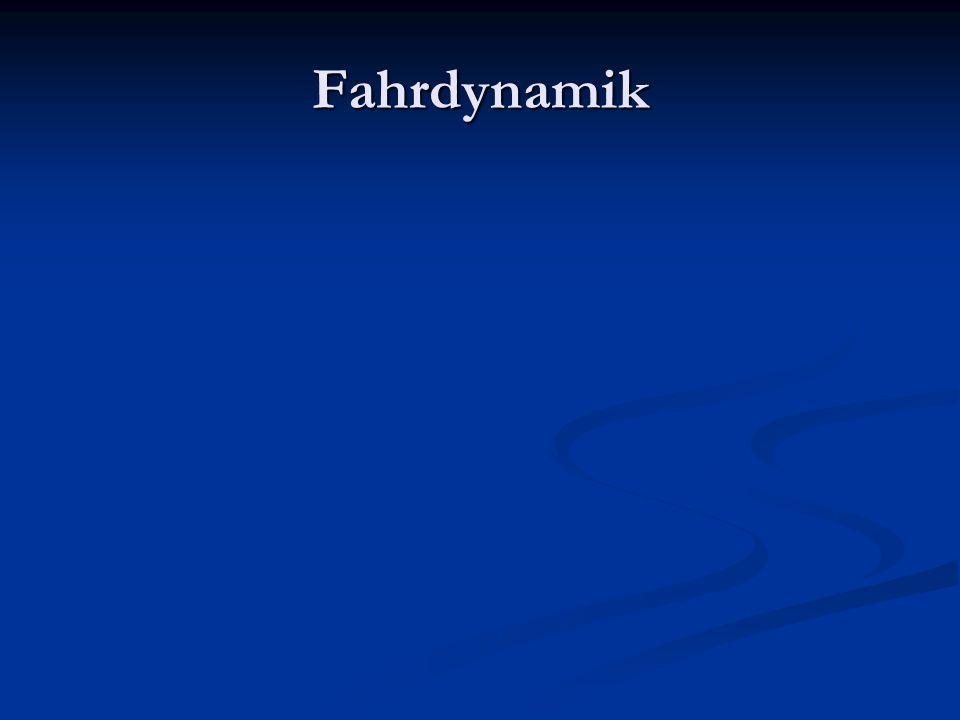 Fahrdynamik