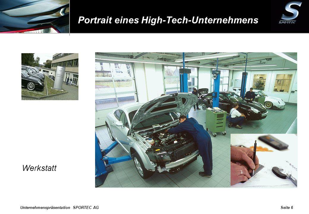 Portrait eines High-Tech-Unternehmens