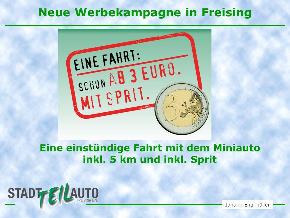 Neue Werbekampagne in Freising