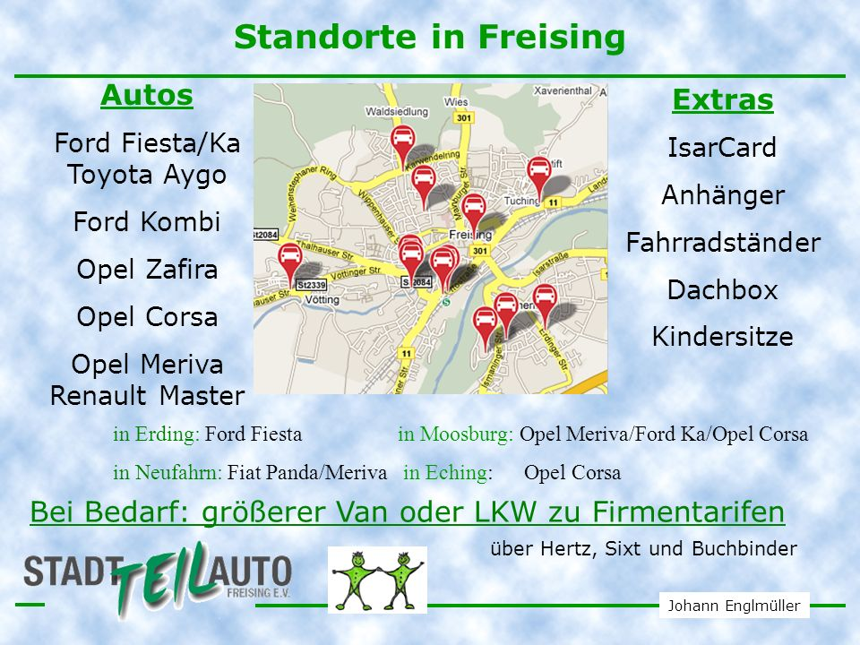 Standorte in Freising Autos Extras
