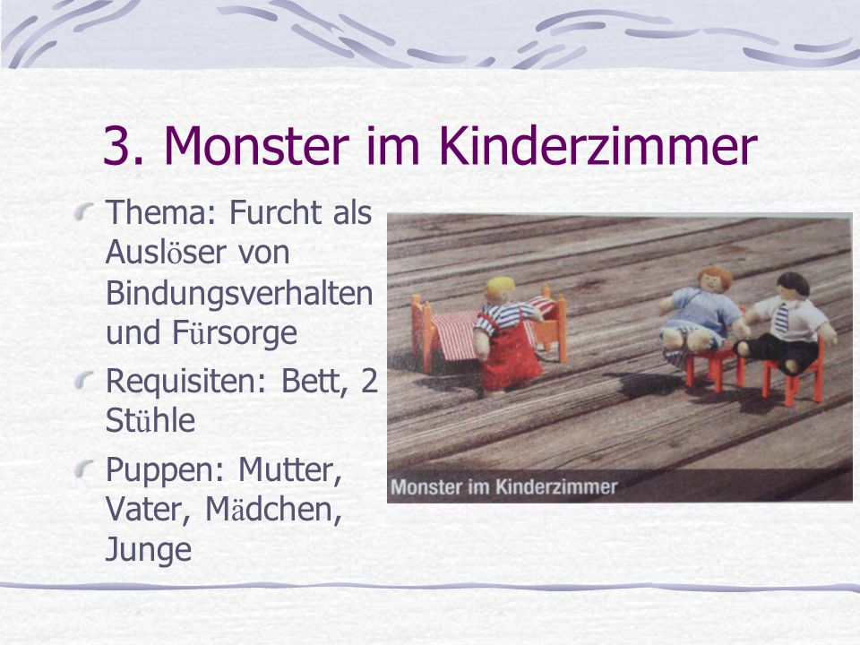 3. Monster im Kinderzimmer
