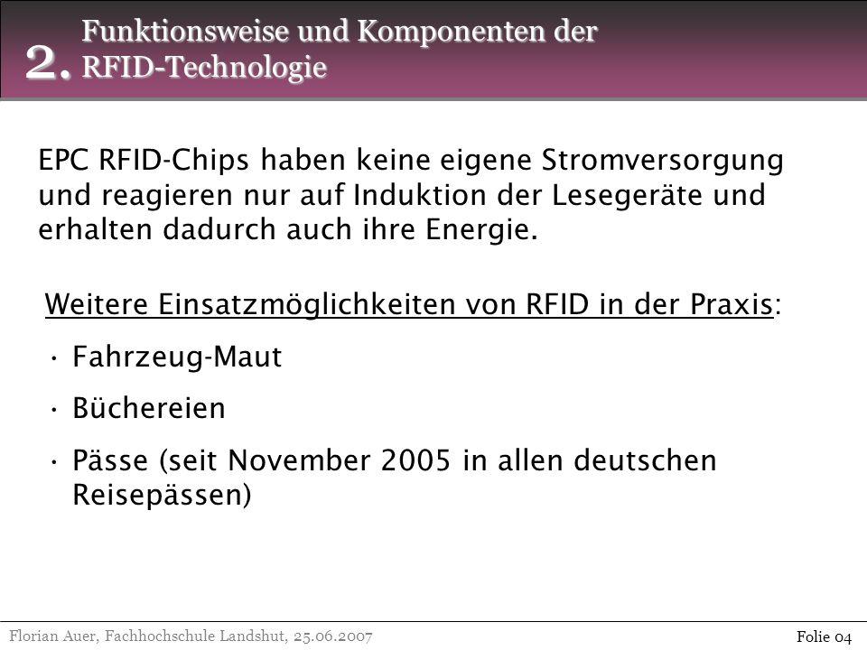 2. Funktionsweise und Komponenten der RFID-Technologie