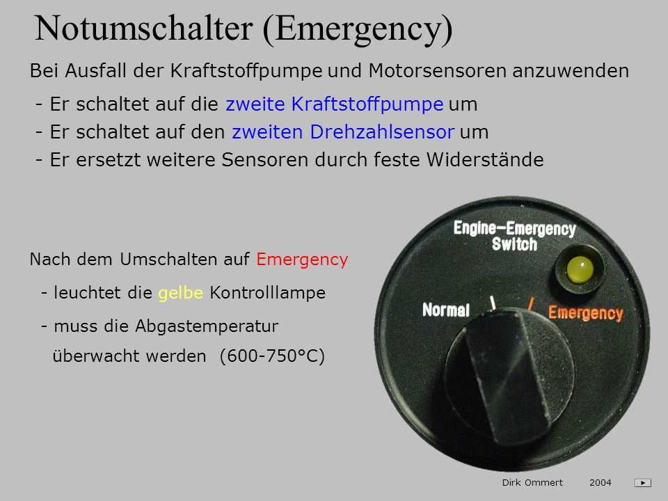 Notumschalter (Emergency)