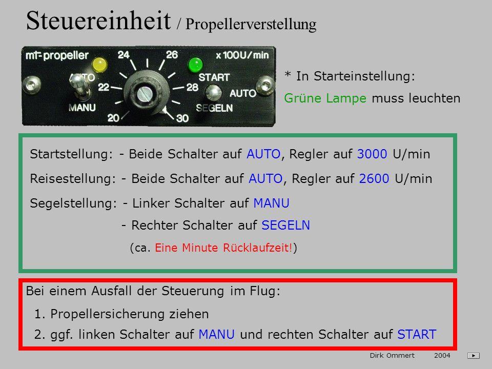 Steuereinheit / Propellerverstellung
