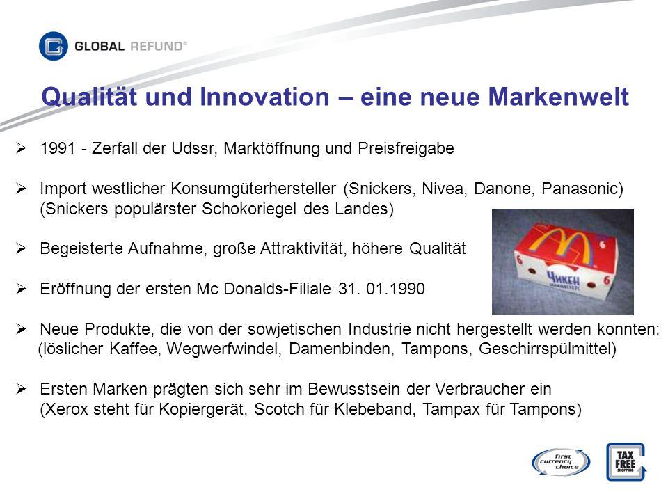 Qualität und Innovation – eine neue Markenwelt