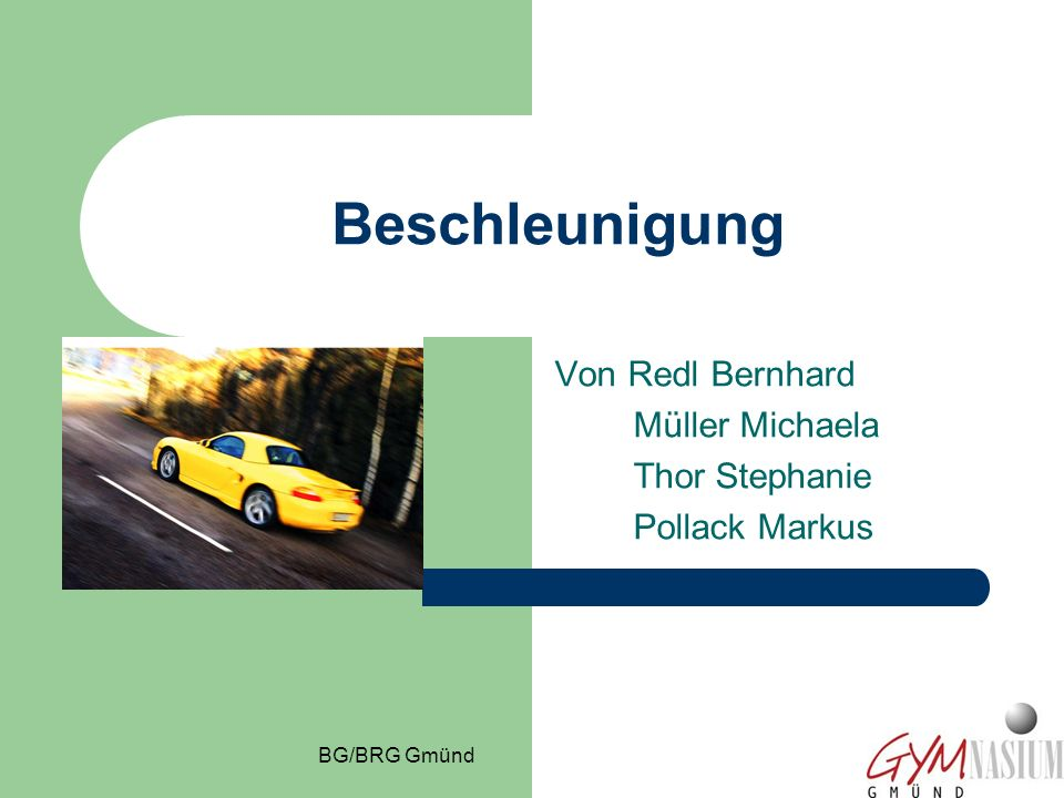 Von Redl Bernhard Müller Michaela Thor Stephanie Pollack Markus