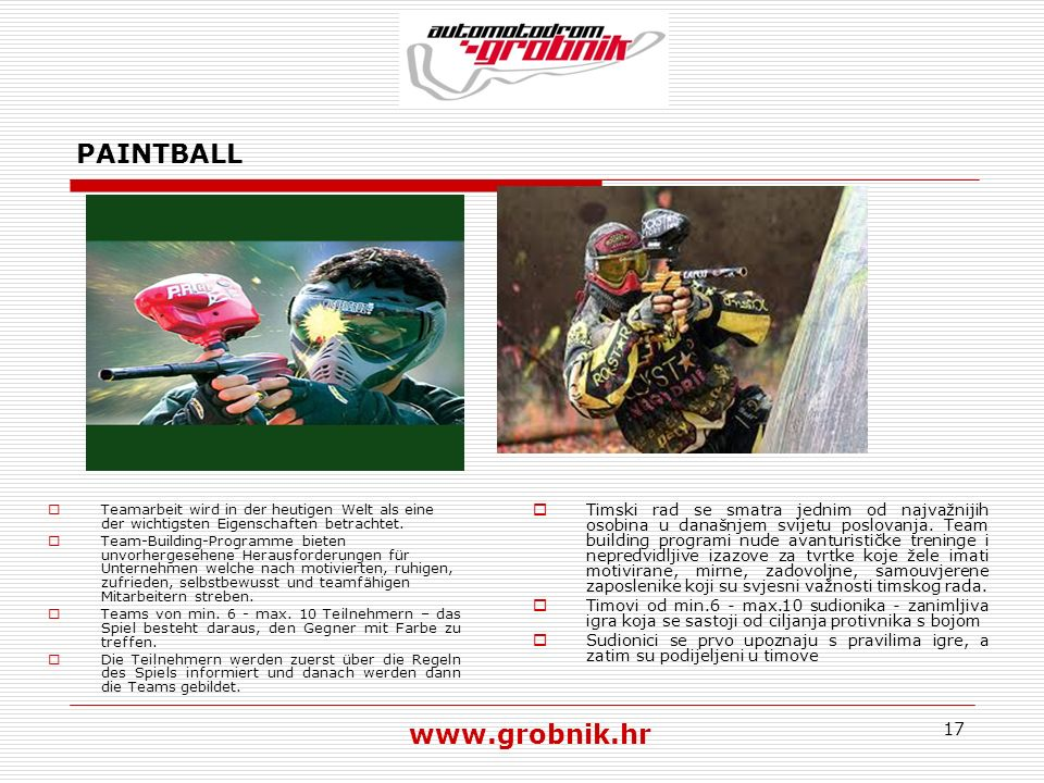 PAINTBALL www.grobnik.hr
