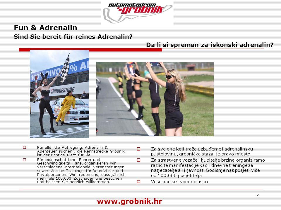 Fun & Adrenalin Sind Sie bereit für reines Adrenalin