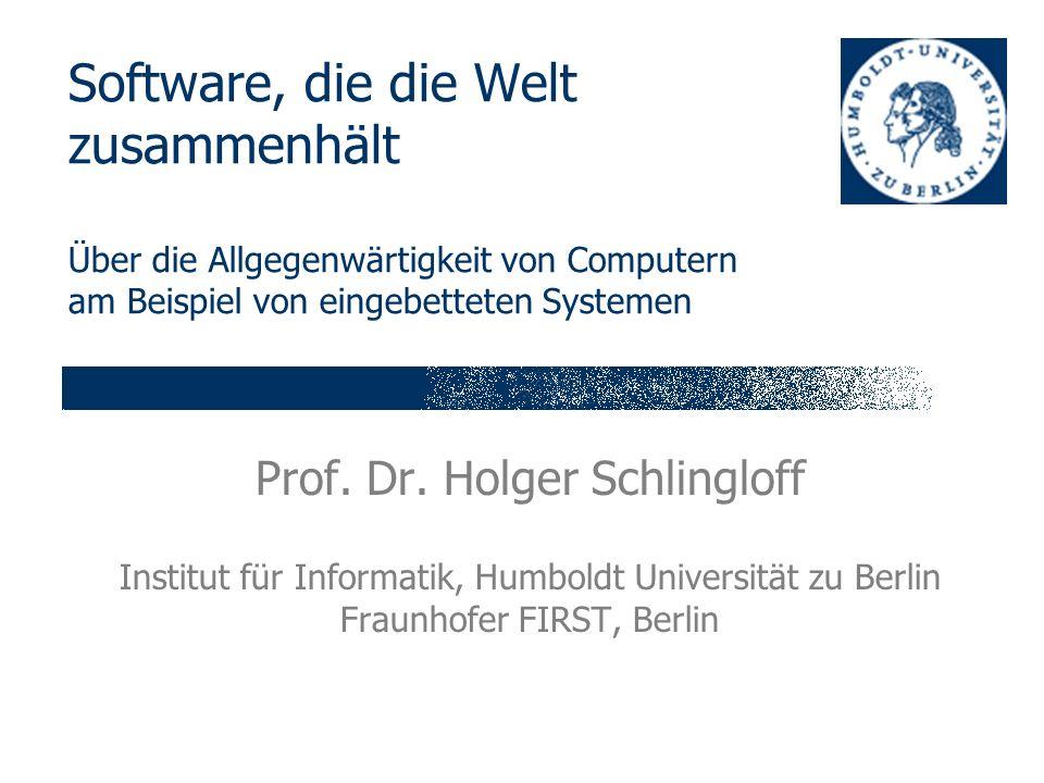 Prof. Dr. Holger Schlingloff