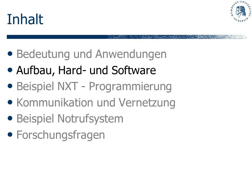 Inhalt Bedeutung und Anwendungen Aufbau, Hard- und Software