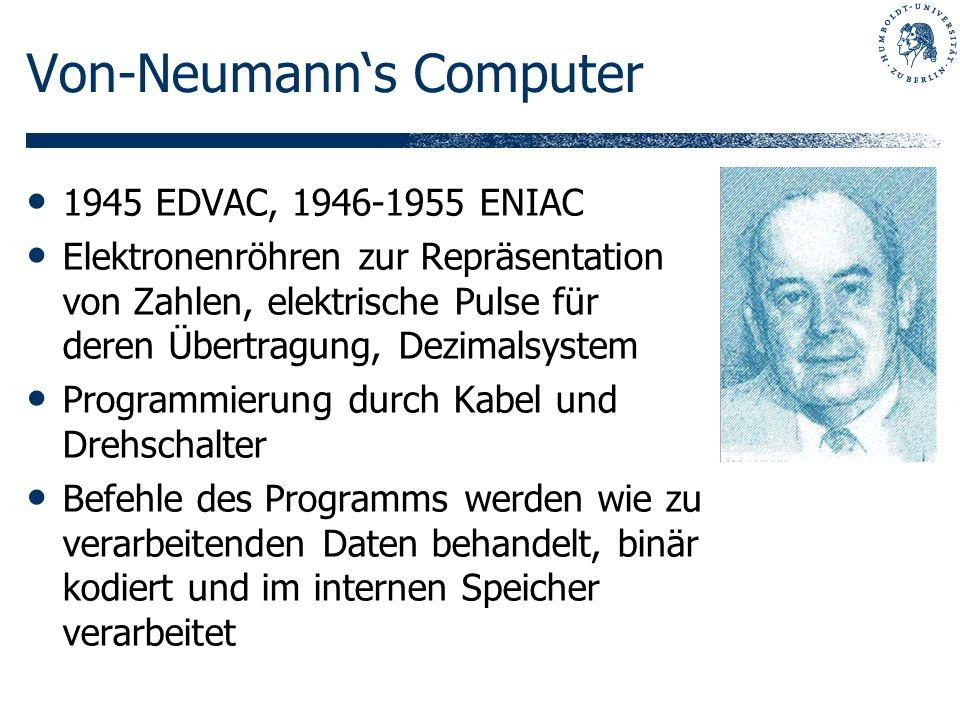Von-Neumann's Computer