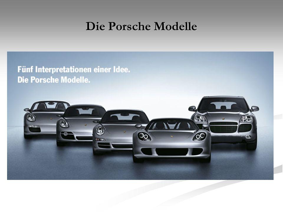 Die Porsche Modelle
