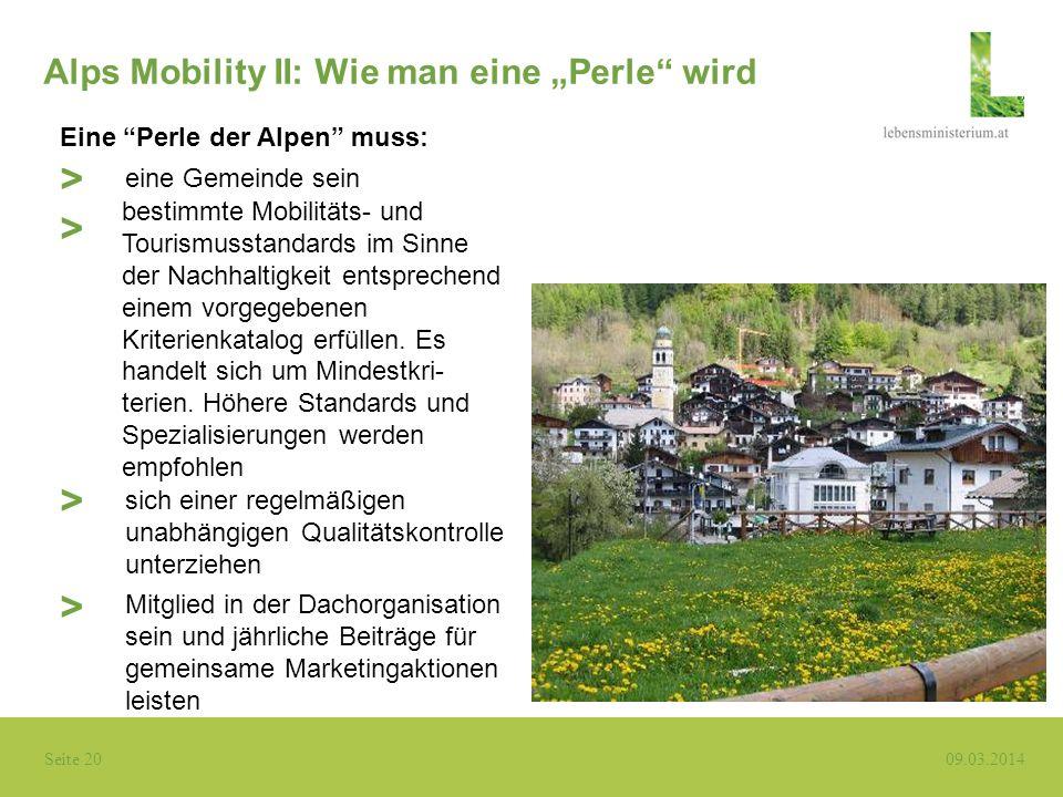 """Alps Mobility II: Wie man eine """"Perle wird"""