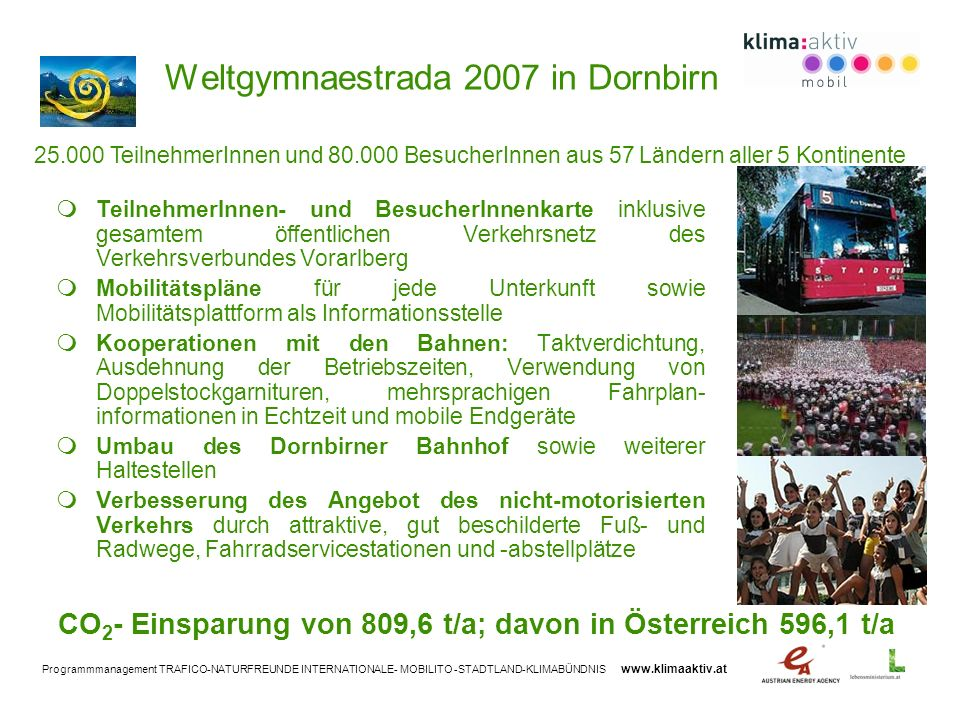 Weltgymnaestrada 2007 in Dornbirn