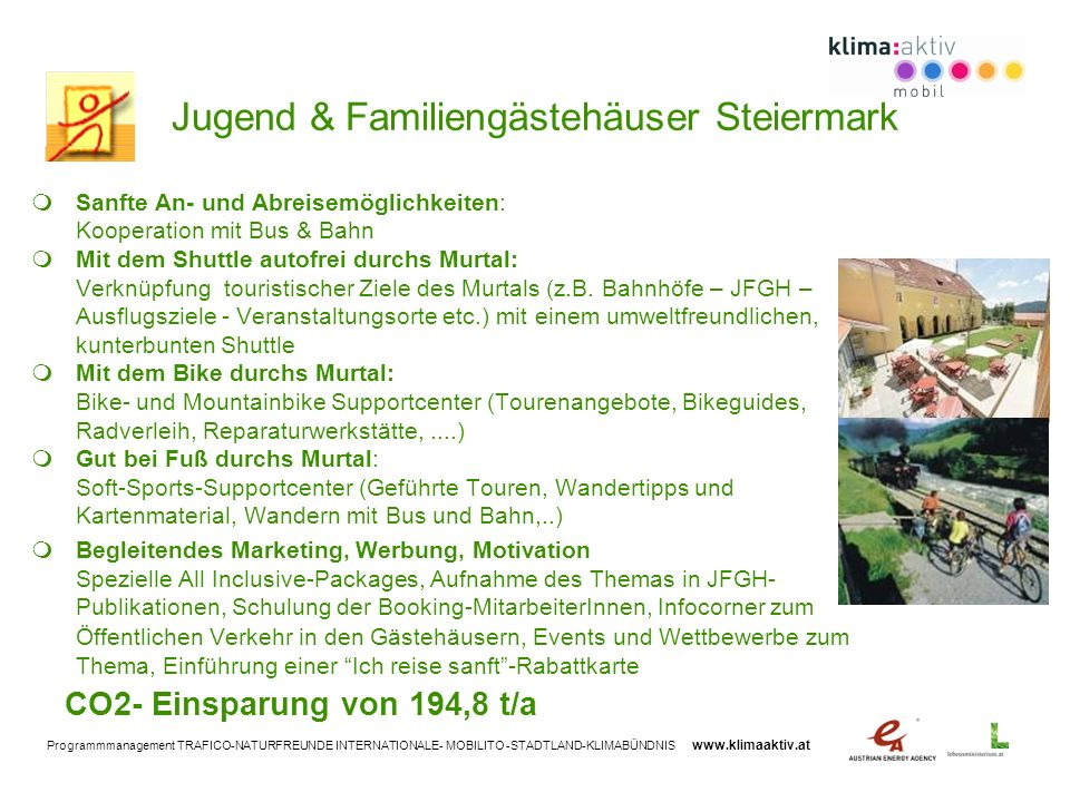 Jugend & Familiengästehäuser Steiermark