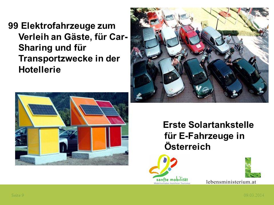 Elektrofahrzeuge zum Verleih an Gäste, für Car-Sharing und für Transportzwecke in der Hotellerie