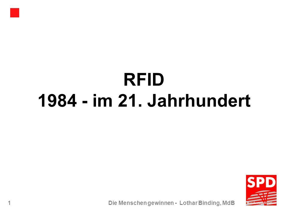 RFID 1984 - im 21. Jahrhundert