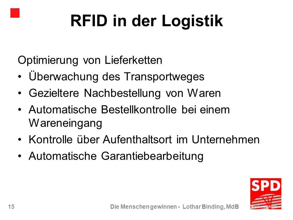 RFID in der Logistik Optimierung von Lieferketten