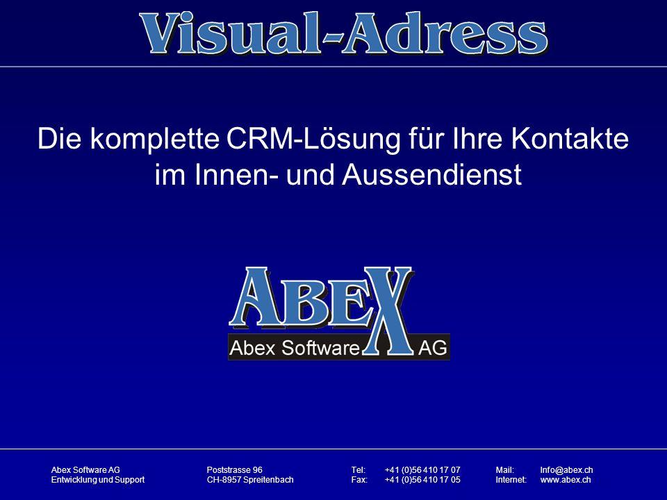 Die komplette CRM-Lösung für Ihre Kontakte im Innen- und Aussendienst