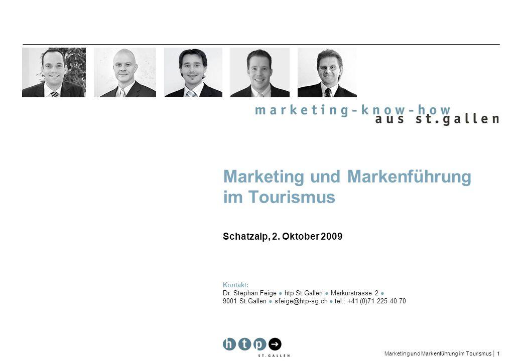 Marketing und Markenführung im Tourismus