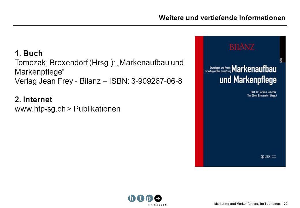 "Tomczak; Brexendorf (Hrsg.): ""Markenaufbau und Markenpflege"