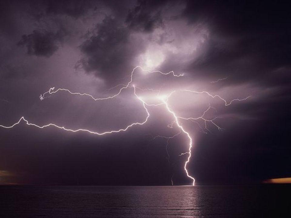 War schon wer in einem Gewitter Macht das Angst