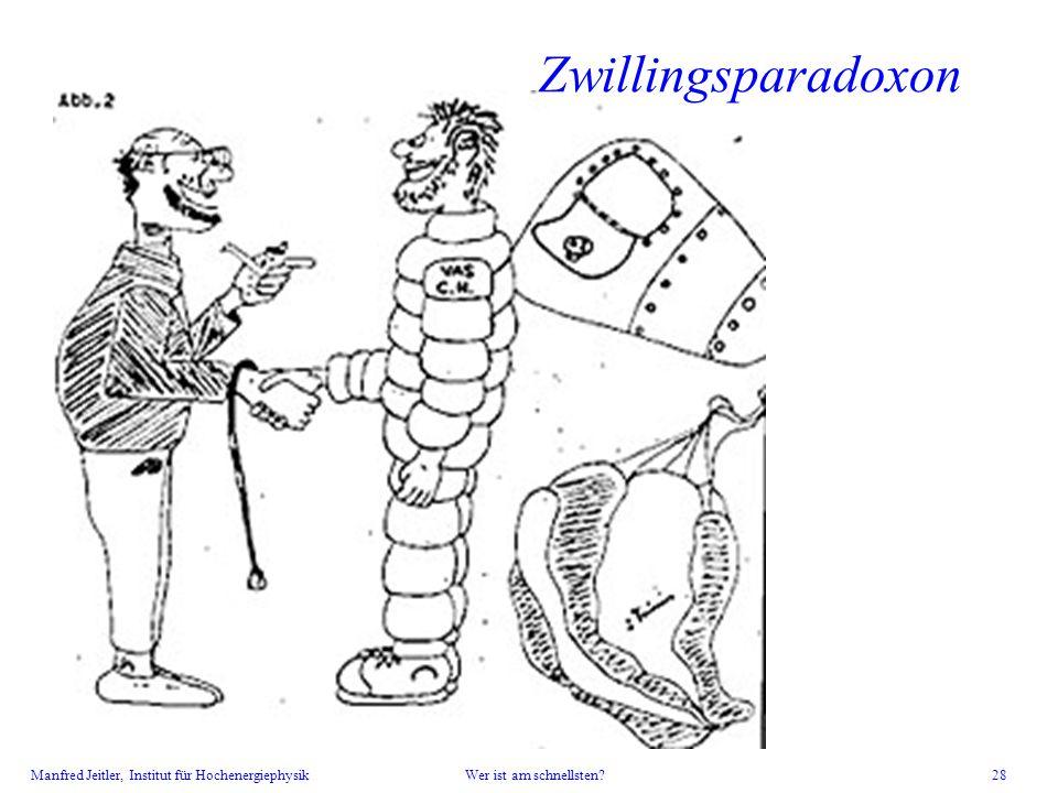 Zwillingsparadoxon