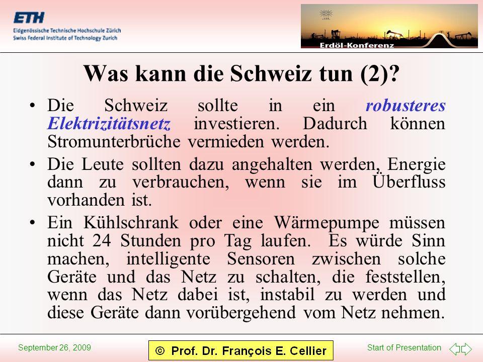 Was kann die Schweiz tun (2)