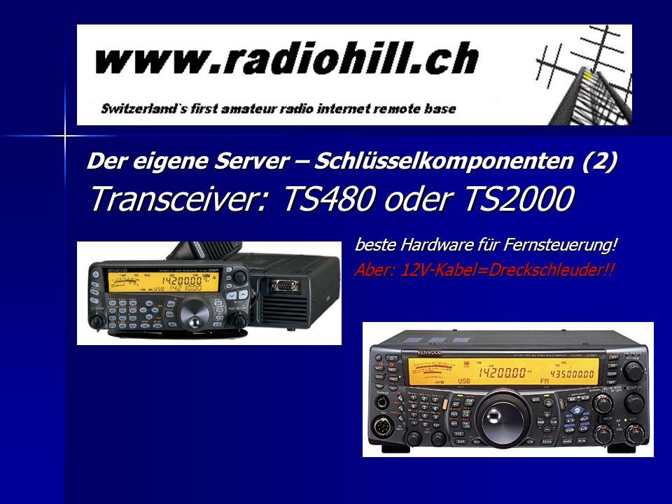 Transceiver: TS480 oder TS2000