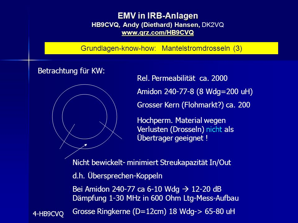 Grundlagen-know-how: Mantelstromdrosseln (3)