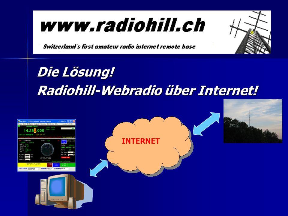 Radiohill-Webradio über Internet!