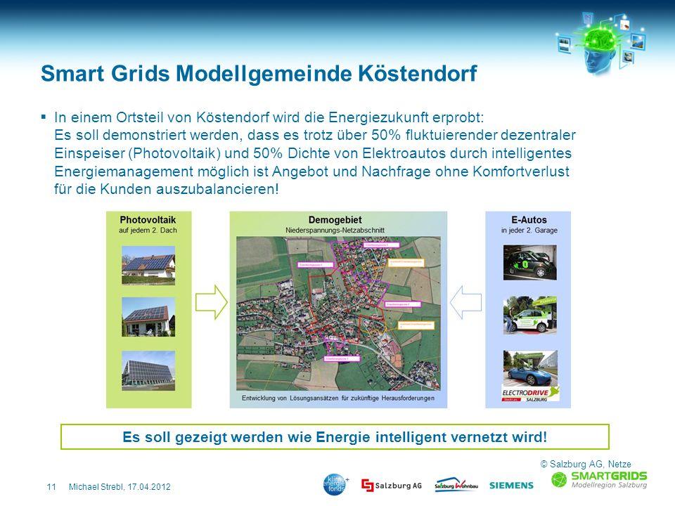 Smart Grids Modellgemeinde Köstendorf
