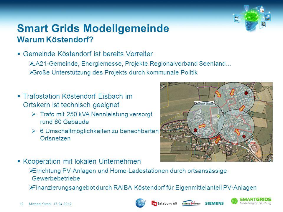 Smart Grids Modellgemeinde Warum Köstendorf
