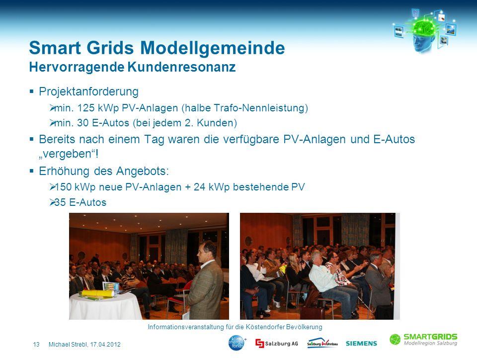 Smart Grids Modellgemeinde Hervorragende Kundenresonanz