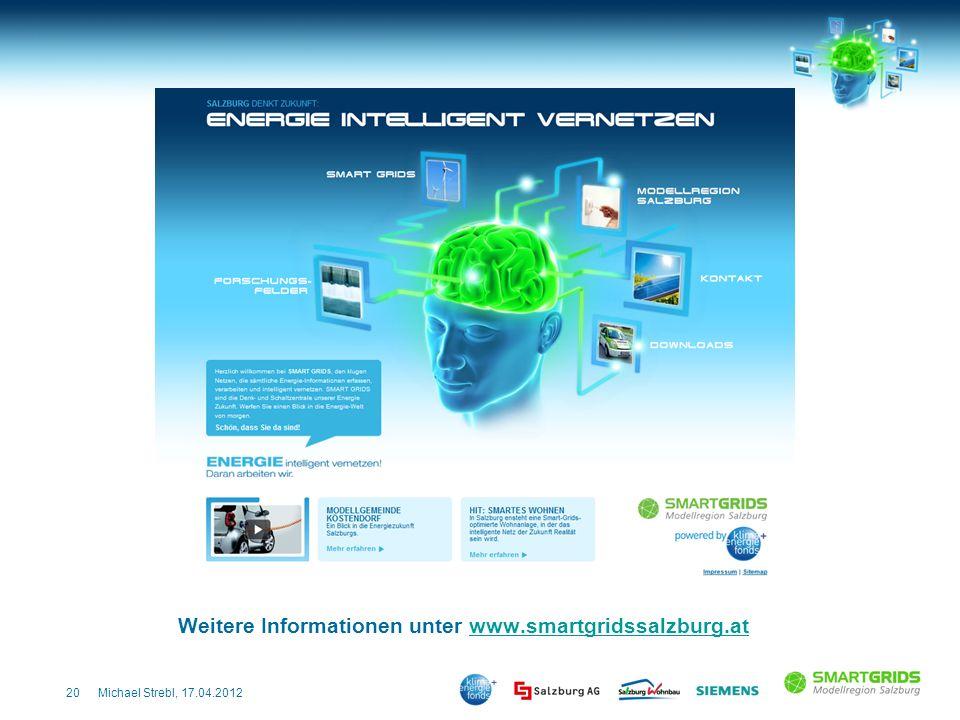 Weitere Informationen unter www.smartgridssalzburg.at