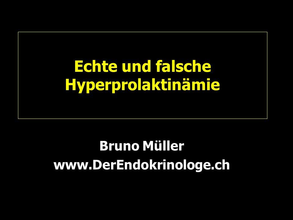 Echte und falsche Hyperprolaktinämie