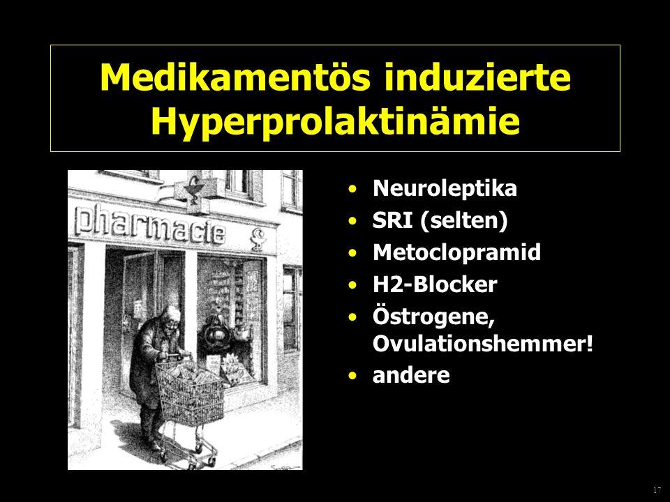 Medikamentös induzierte Hyperprolaktinämie