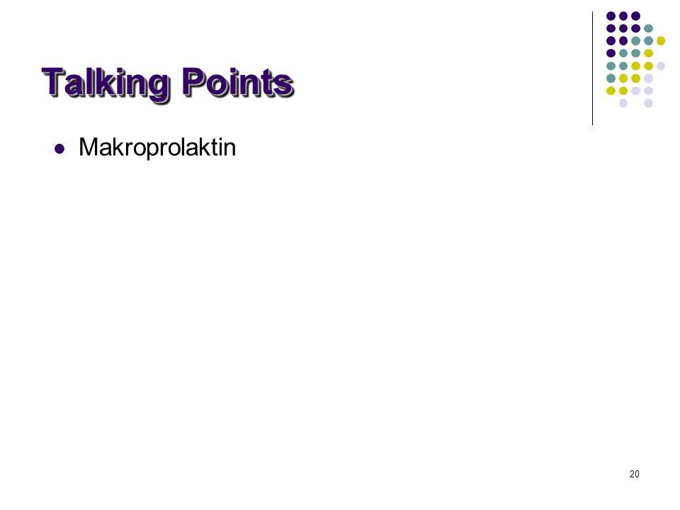 28/03/2017 Talking Points Makroprolaktin