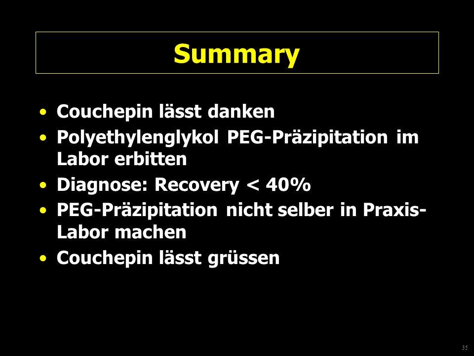 Summary Couchepin lässt danken