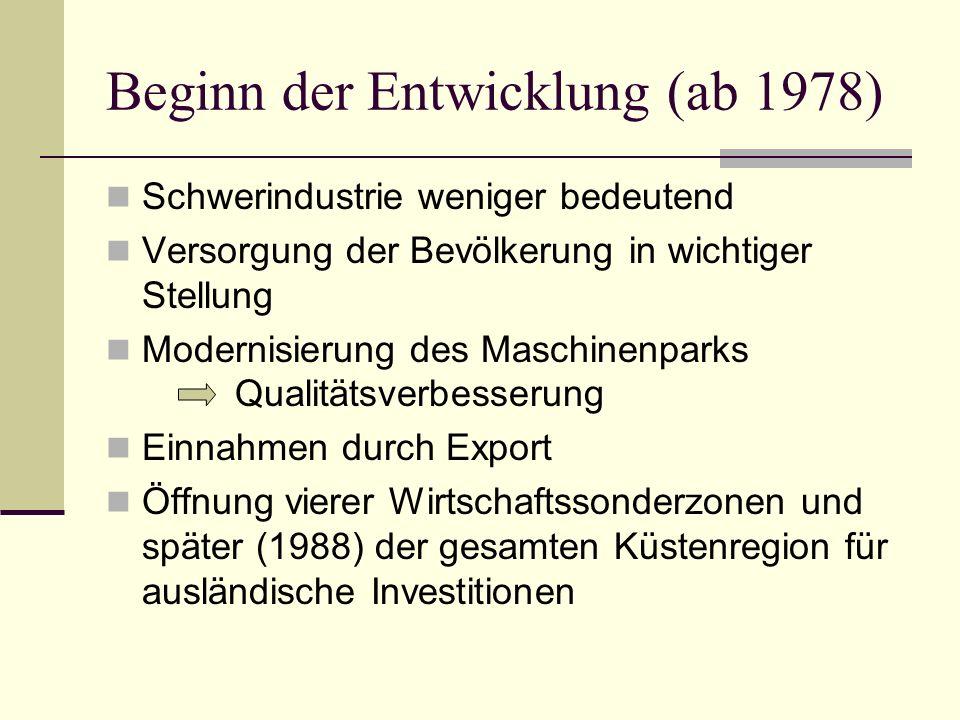 Beginn der Entwicklung (ab 1978)
