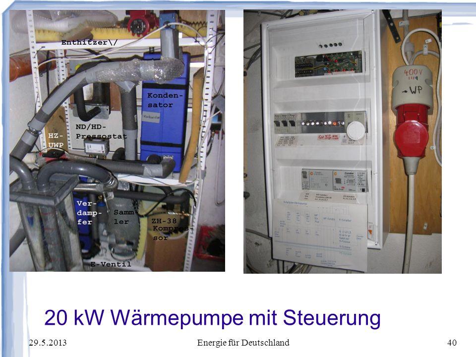 20 kW Wärmepumpe mit Steuerung
