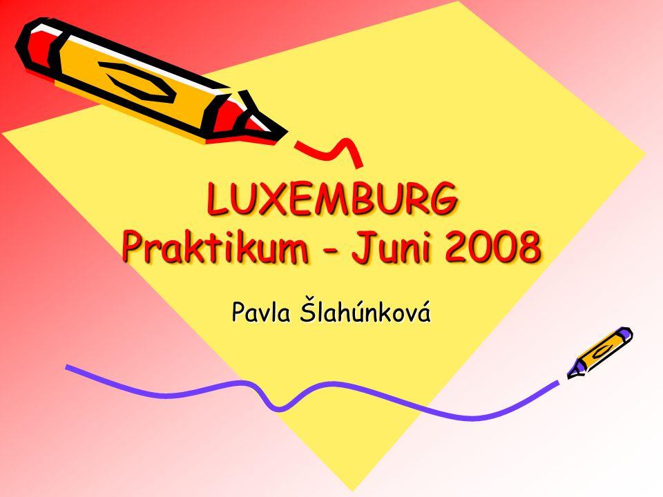 LUXEMBURG Praktikum - Juni 2008