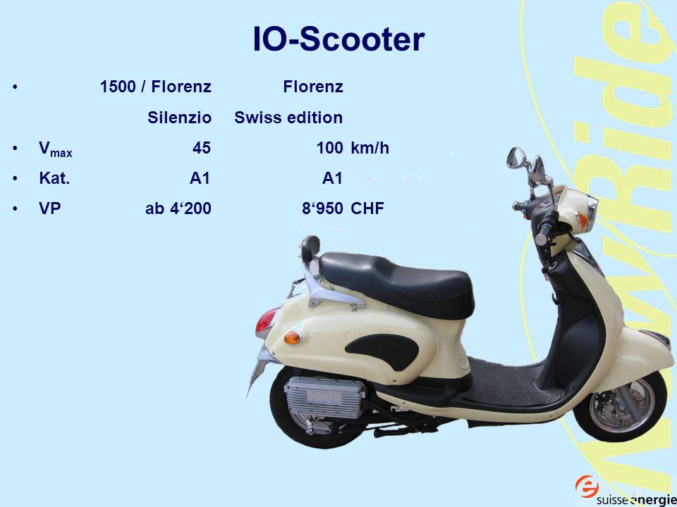 IO-Scooter 1500 / Florenz Florenz Silenzio Swiss edition