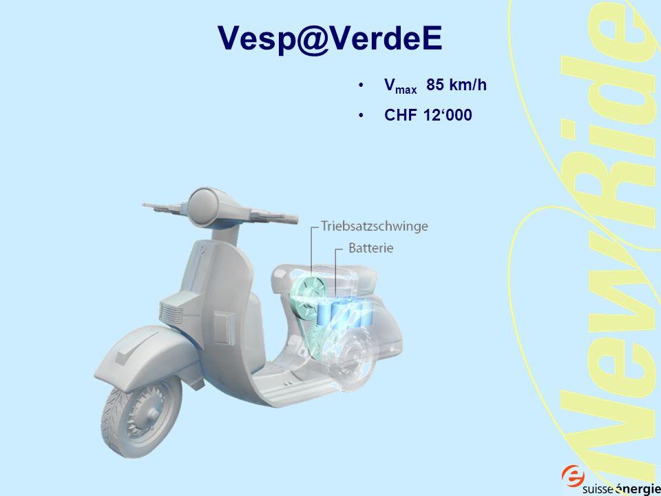 Vesp@VerdeE Vmax 85 km/h CHF 12'000